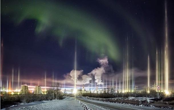 Фотограф снял на севере редкое природное явление