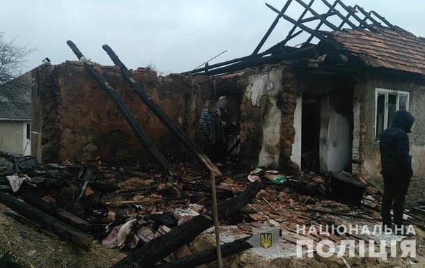 В Закарпатье мужчина при семейной ссоре убил сожительницу и взорвал дом