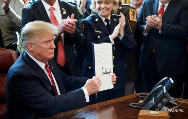 Трамп вперше наклав вето на резолюцію Сенату США