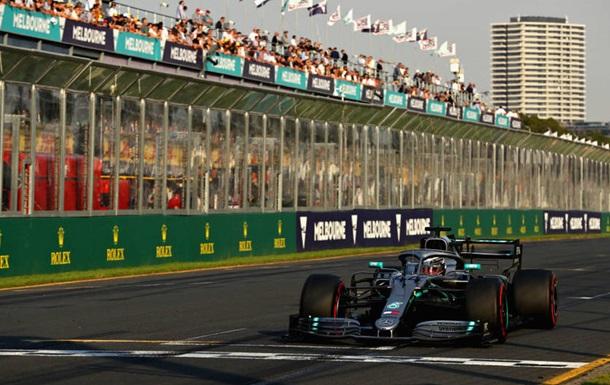 Хэмилтон выиграл поул на Гран-при Австралии