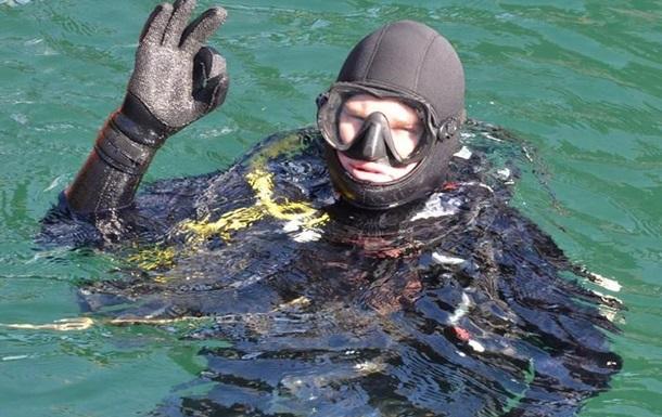 Водолази ЗСУ провели навчання у крижаному морі