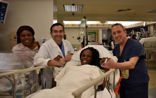 Жительница Техаса за девять минут родила шестерых детей