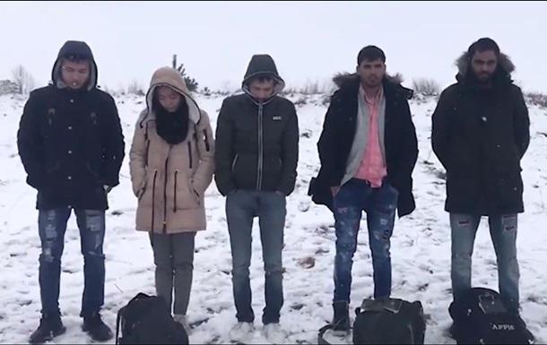 На кордоні з Росією затримали групу з десяти осіб