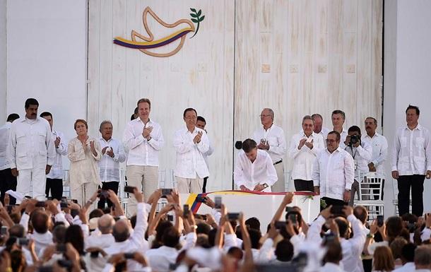 Опыт Колумбии. Мир без Путина