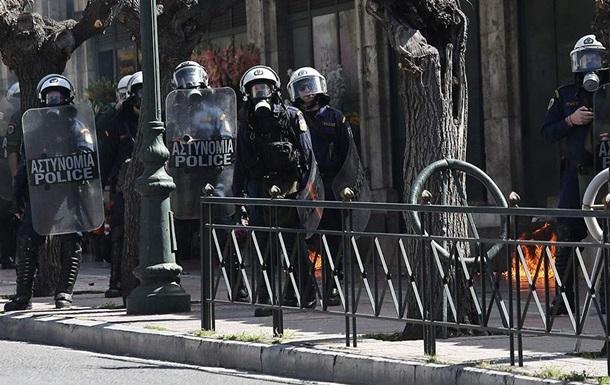 В Афінах студенти закидали поліцію коктейлями Молотова
