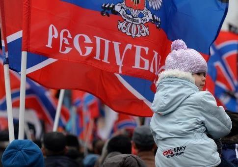 КРОВАВЫЕ МИТИНГИ В ДНР