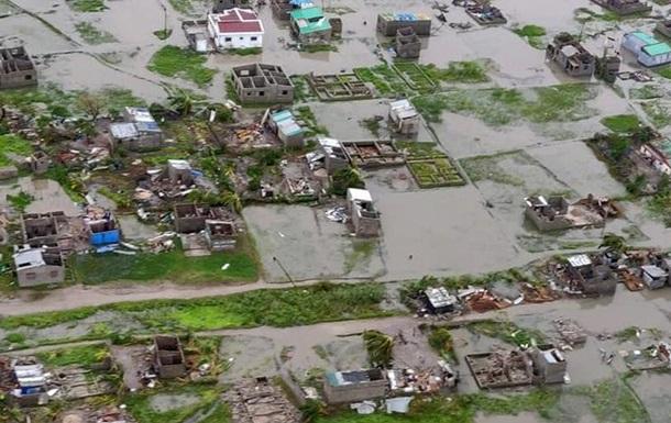 Президент Мозамбіку побоюється, що кількість жертв циклону перевищить тисячу