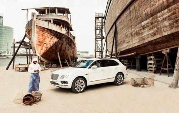 Bentley показав лімітоване авто, прикрашене перламутром