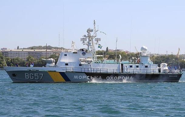 Морська охорона України затримала два судна, що  переховувалися