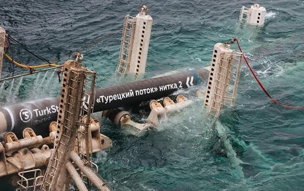 Морську і наземну частини Турецького потоку з єднали