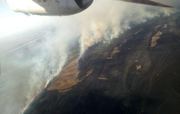Пожар в Одесской области 19 марта