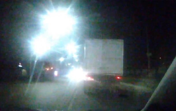 У Запорізькій області зі стріляниною затримували п яного водія вантажівки
