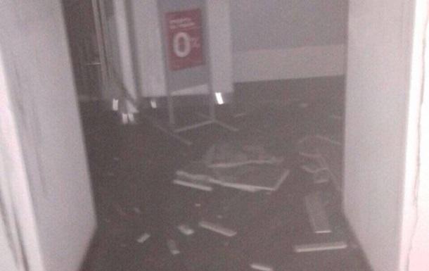 У Львові підпалили відділення банку