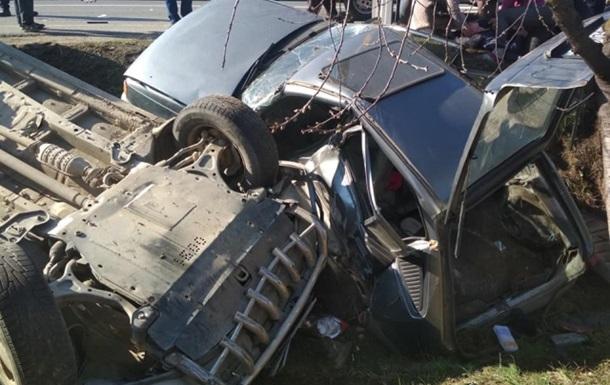 В ДТП под Мукачево пострадали пять человек