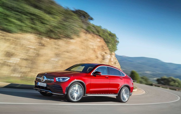 Mercedes-Benz GLC Coupe: фото