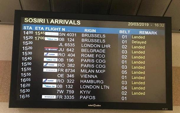 Два іноземних аеропорти виправили Kiev на Kyiv