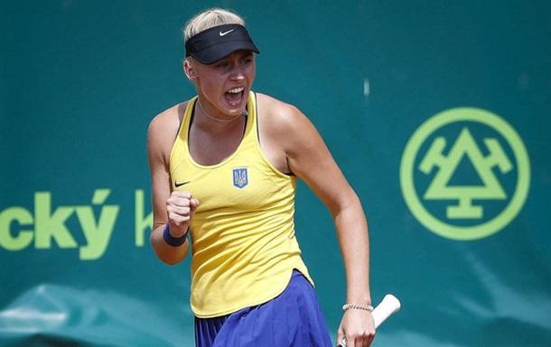 Украинка Лопатецкая вышла в четвертьфинал турнира в Японии