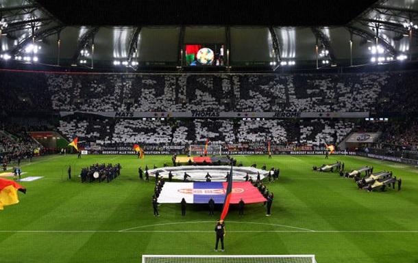 Фанаты показали перфоманс в честь уходящих легенд сборной Германии