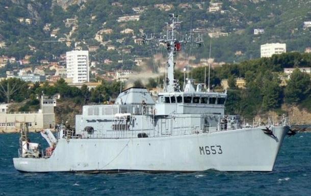 У Чорне море увійшов корабель ВМС Франції