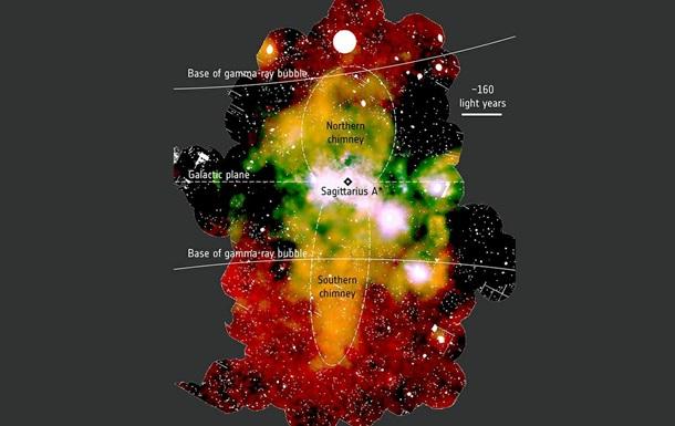 В Млечном Пути обнаружили гигантские  выхлопные трубы