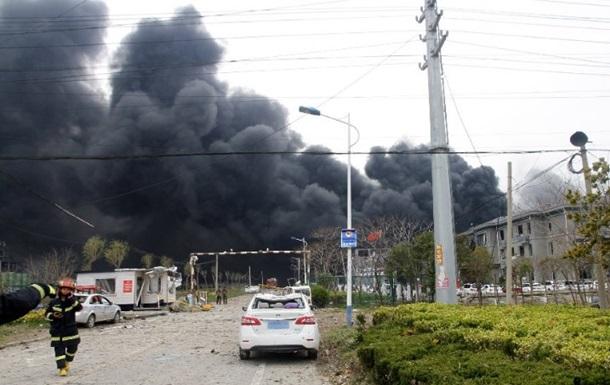 Вибух на заводі в Китаї: кількість жертв досягла 44