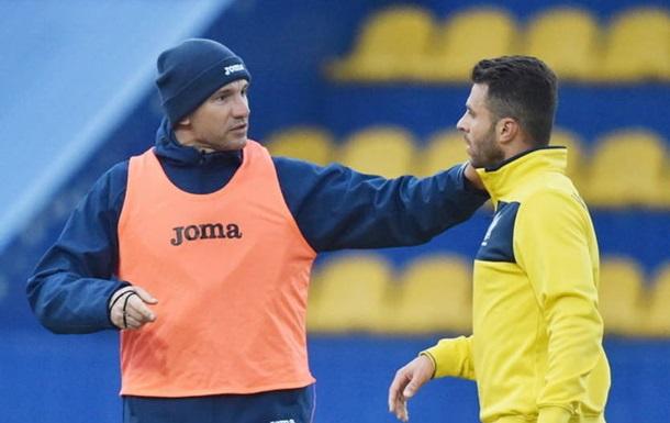 Шевченко не включив Болбата і Шабанова в заявку на гру з Португалією