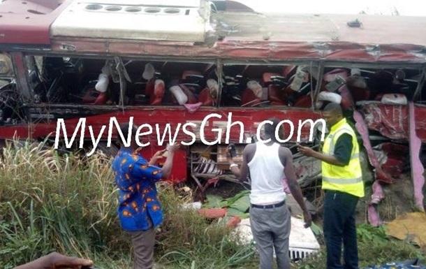 У Гані зіткнулися два автобуси: понад 70 загиблих