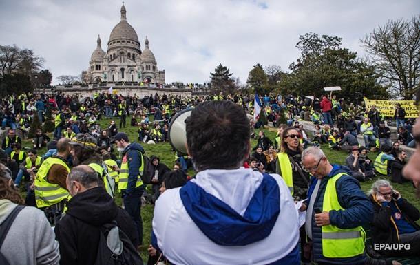 На протести у Франції вийшли понад 40 000 людей