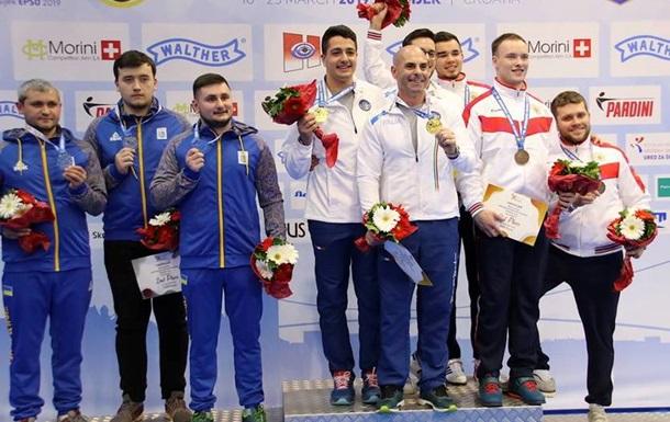 Україна завершила ЧЄ зі стрільби двома срібними медалями