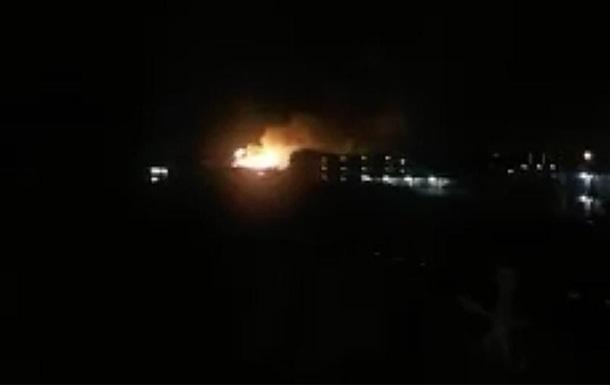 На военной базе США в Японии произошел взрыв