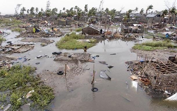 Кількість жертв циклону  Ідай  в Африці перевищила 760 осіб