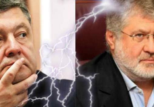 Компромат как элемент политической агитации: атака Коломойского против Порошенко