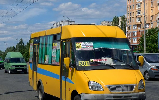 В Киеве оштрафовали водителя автобуса, избившего пассажира палкой