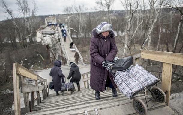 Киев восстановит разрушенный мост в Станице Луганской