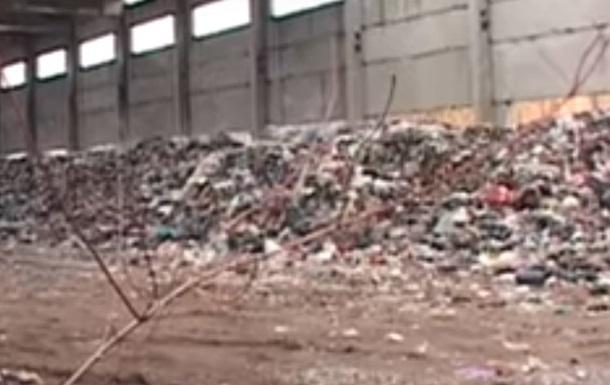 На Житомирщині протестувальники перекрили трасу через львівське сміття