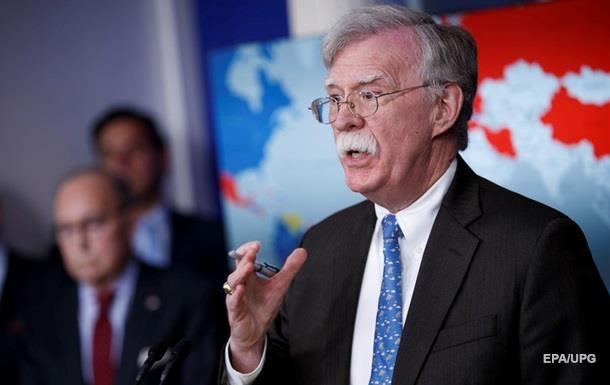Болтон: США не потерплять вторгнення в справи Заходу