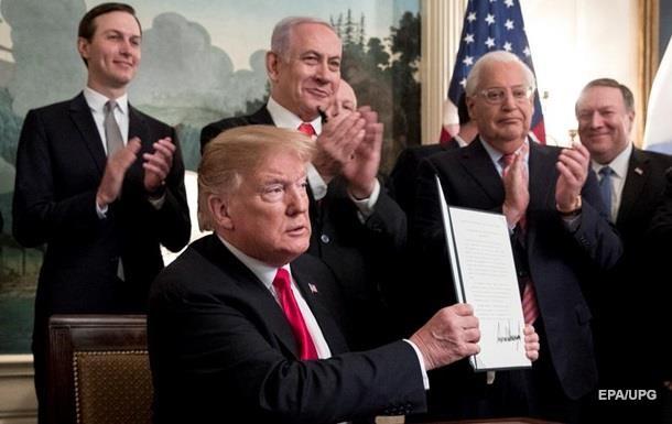 Підсумки 25.03: Дарунок Трампа Ізраїлю і ціна Криму