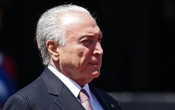 Суд у Бразилії відпустив затриманого раніше екс-президента Мішела Темера