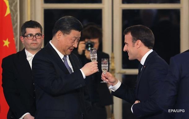 Франция продаст Китаю самолетов на 30 миллиардов евро