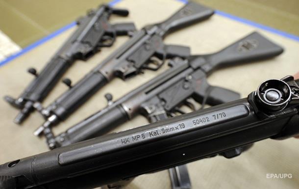 Немцы отрицают поставку пулеметов для украинской полиции