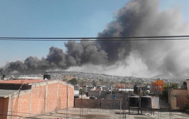 Рынок пиротехники взорвался в Мексике