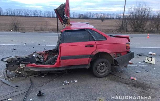 ДТП в Винницкой области: легковушку разорвало на части