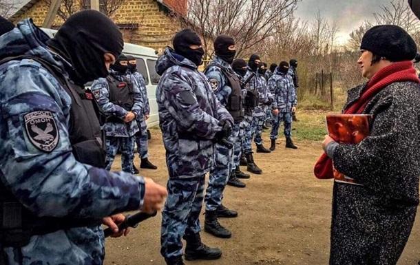 Обшуки в Криму: затримано не менш як 10 осіб