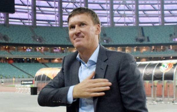 Сачко эмоционально попрощался с игроками и болельщиками Ворсклы
