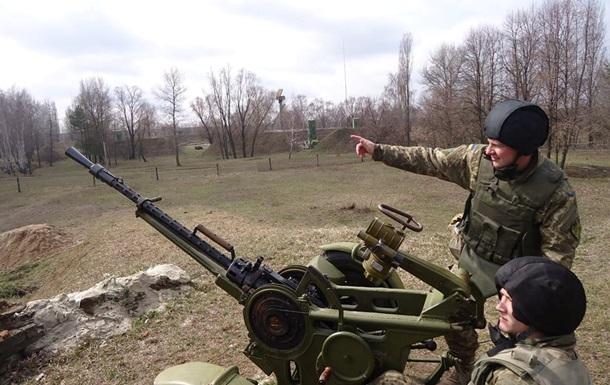 У Київській області військові провели тактичні навчання