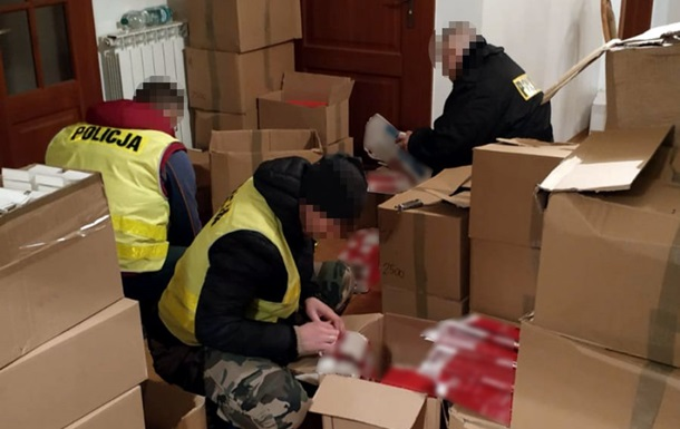 У Польщі на підпільному виробництві затримані вісім українців і вірменин