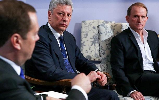 Время первых. Чем показателен визит Медведчука и Бойко в Москву?