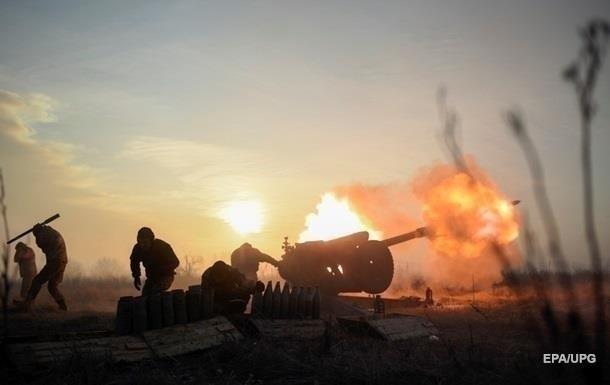 На Донбассе стреляли из запрещенной артиллерии