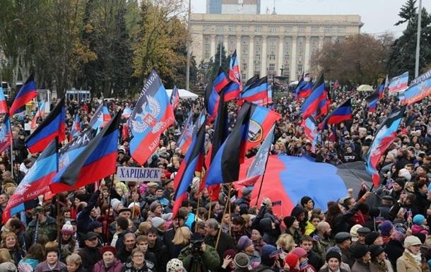 При подготовке к митингу 31 марта в Донецке начались рейды на частные предприяти