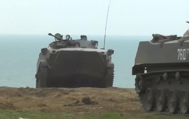 У Криму закінчилися масштабні військові навчання